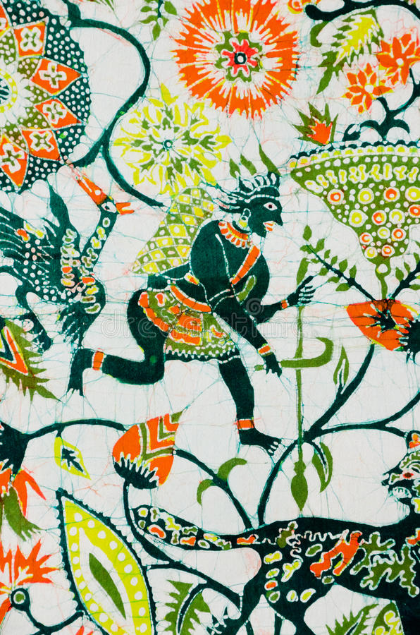 Decoration batik