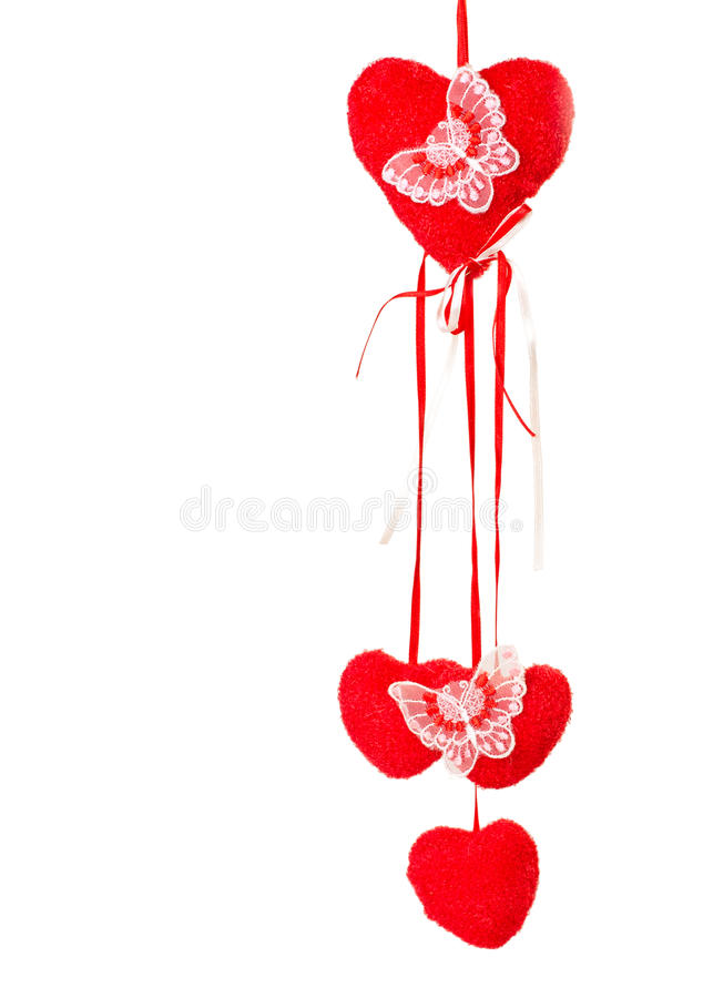 Download Decoration With Butterflies And Valentines Stock Image - Image: 36998731