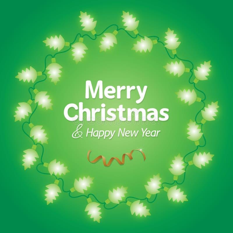 Free Decoration Christmas Light Background Royalty Free Stock Photography - 61438107