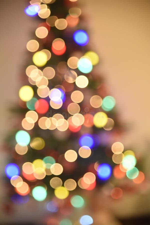 Decoration of Christmas tree. Rio de Janeiro - Brazil, decoration of Christmas tree with deliberate blur, to give effect stock photos