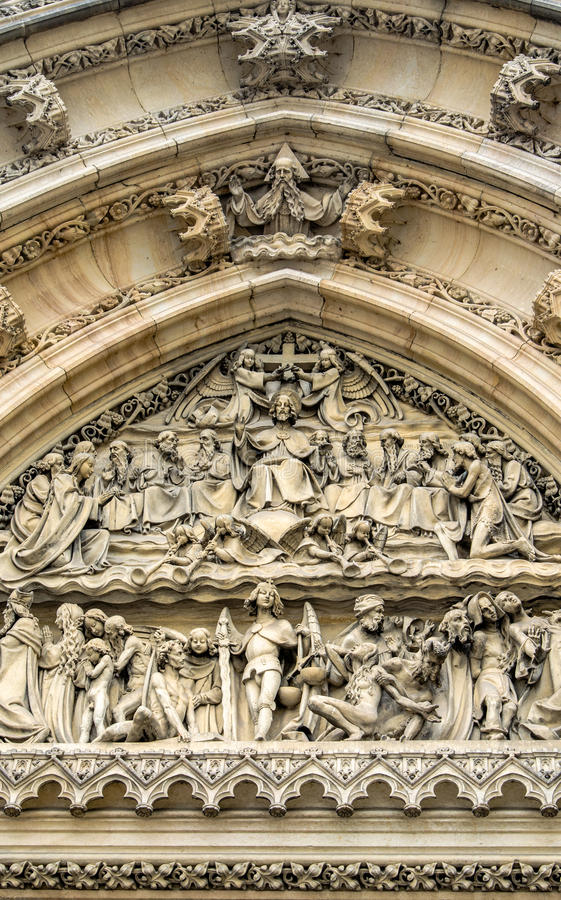 Decoration detail - Churchy Peter and Paul royalty free stock photography