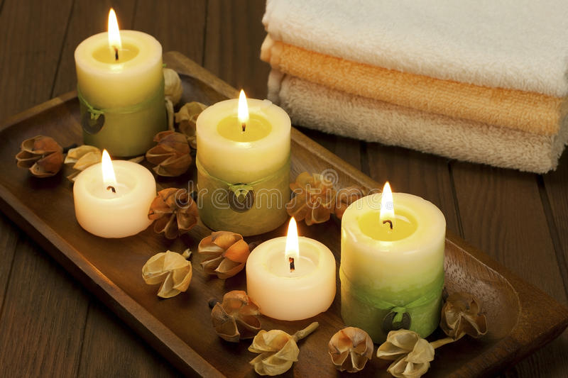 Decoration of home spa stock image. Image of care, boards - 37539523