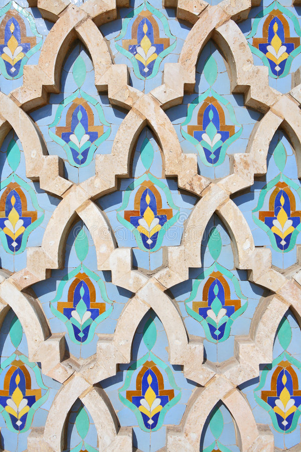 Free Decoration Of Hassan II Mosque Royalty Free Stock Images - 7778969