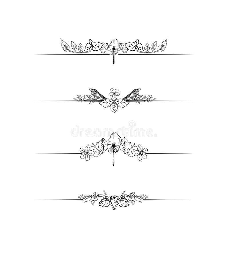 Decoration Set Stock Image