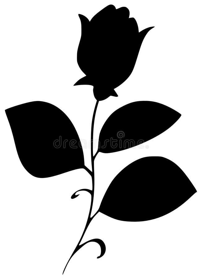 Decoration silhouette. Vector illustration of decoration silhouette vector illustration