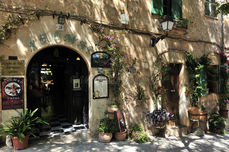 Decoration in Valldemosa royalty free stock images