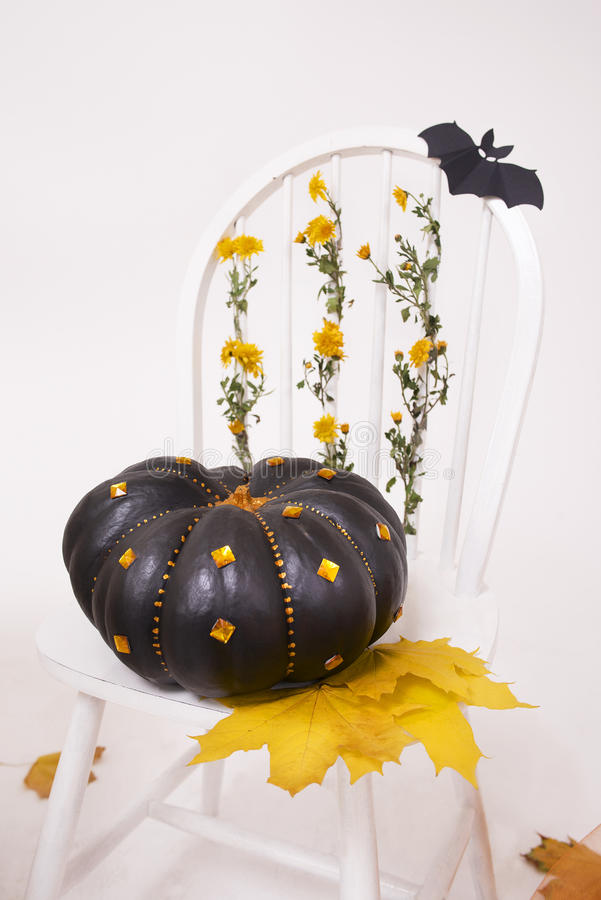 Decorations for Halloween stock images