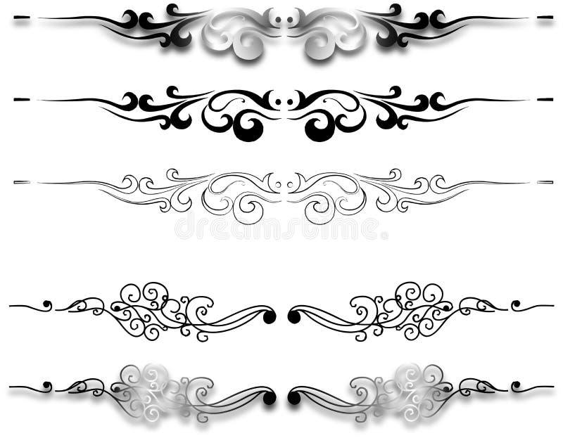 Decorativ-Verzierung stockfotografie