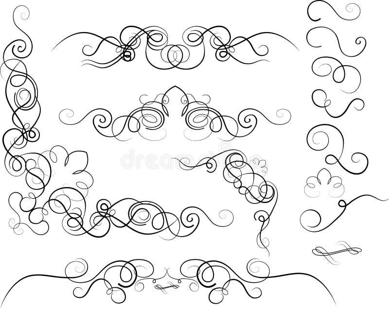 Decorativ-Verzierung lizenzfreie stockbilder