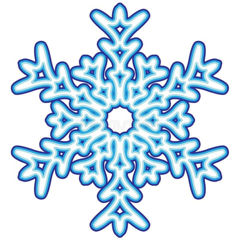 Free Decorative Abstract Snowflake. Stock Photos - 26135313