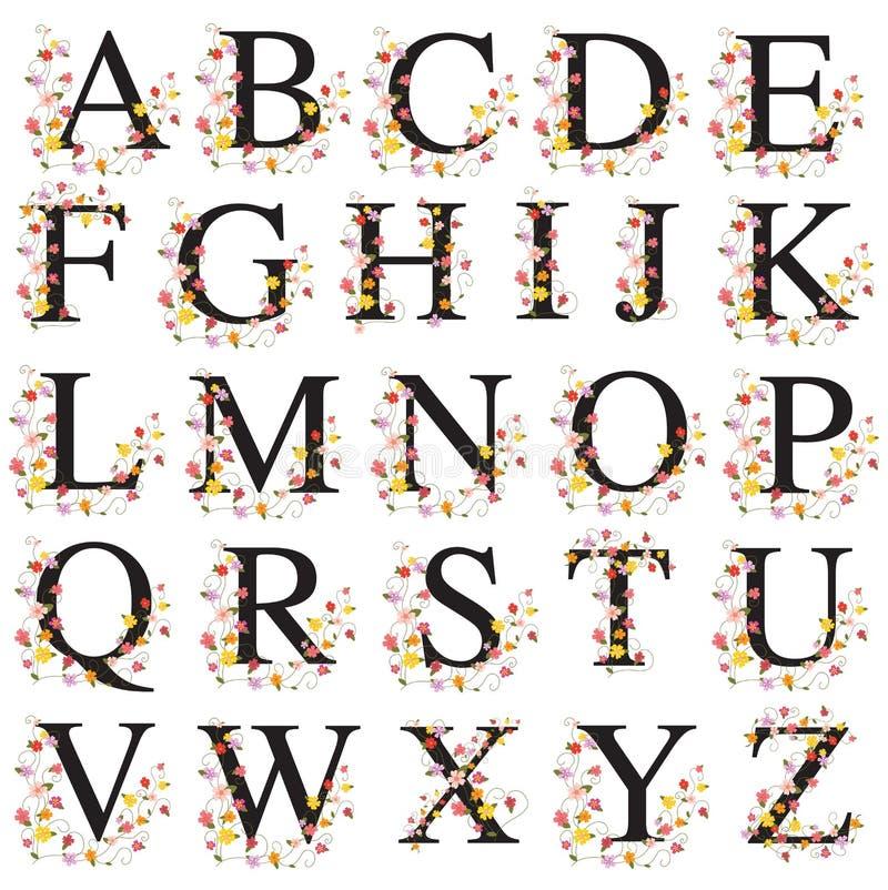 Decorative Alphabet Stock Vector. Illustration Of Font