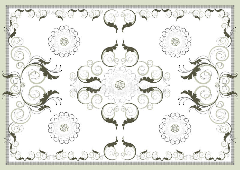 Download Decorative Antique Oriental Pattern .Graphic Arts. Stock Image - Image: 24855141