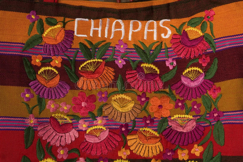Decorative art from chiapas royalty free stock images