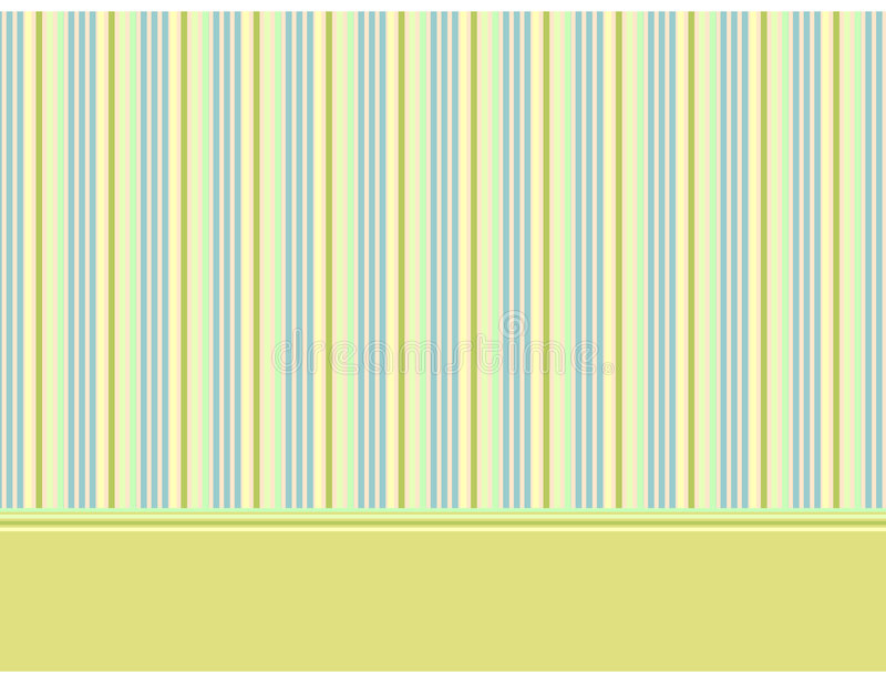 Download Decorative Baby Background With Stripes 2 Stock Vector - Illustration: 7480256