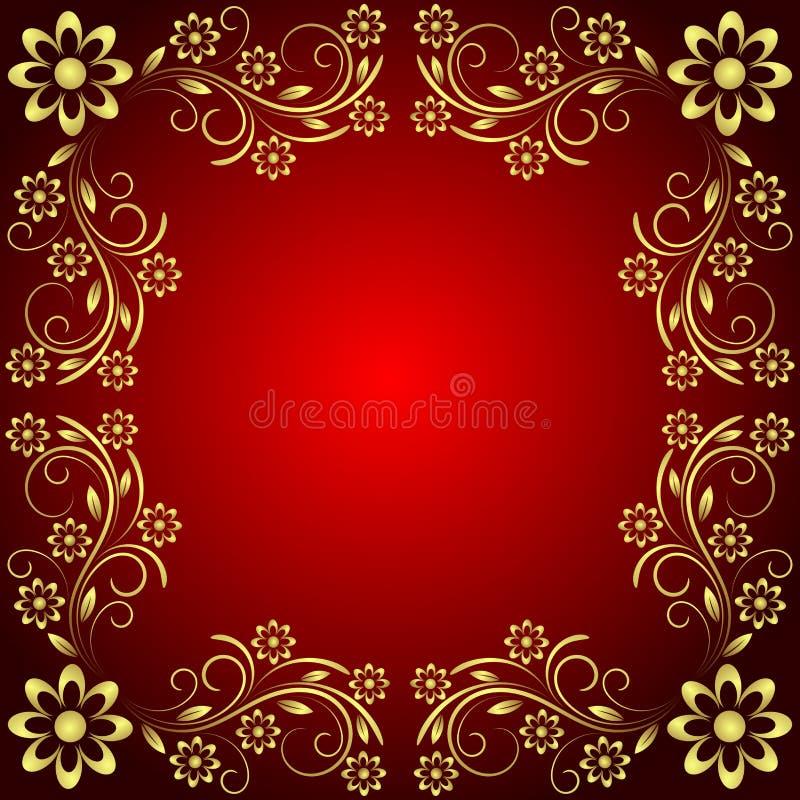 Download Decorative background stock illustration. Image of branch - 10817032