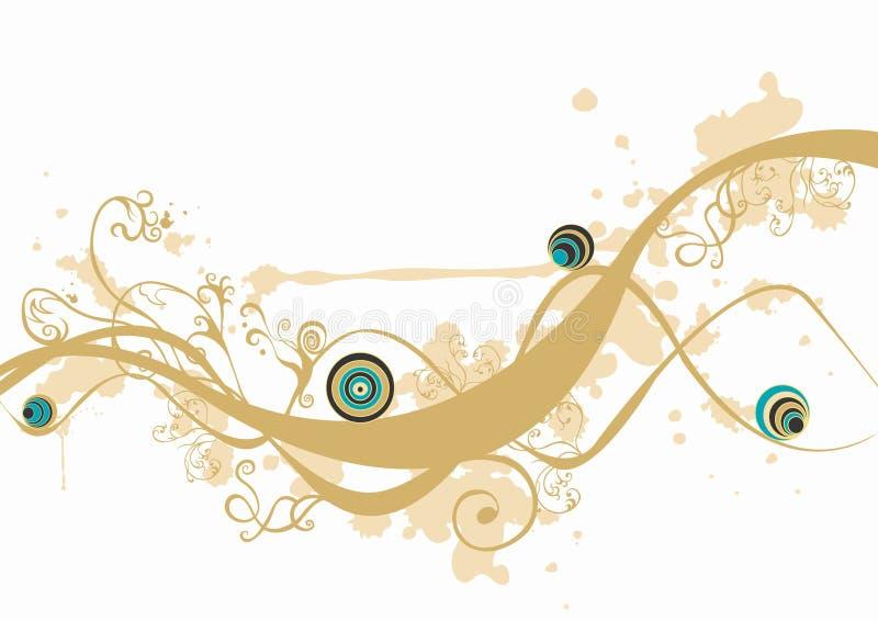 Decorative background royalty free illustration