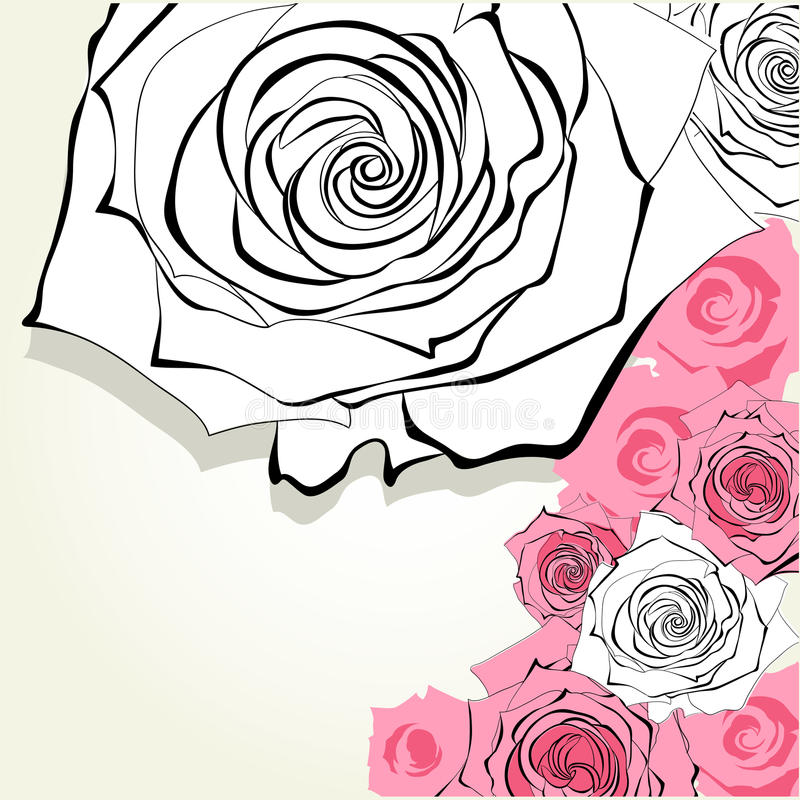 Download Decorative  background stock vector. Image of invitation - 26003579