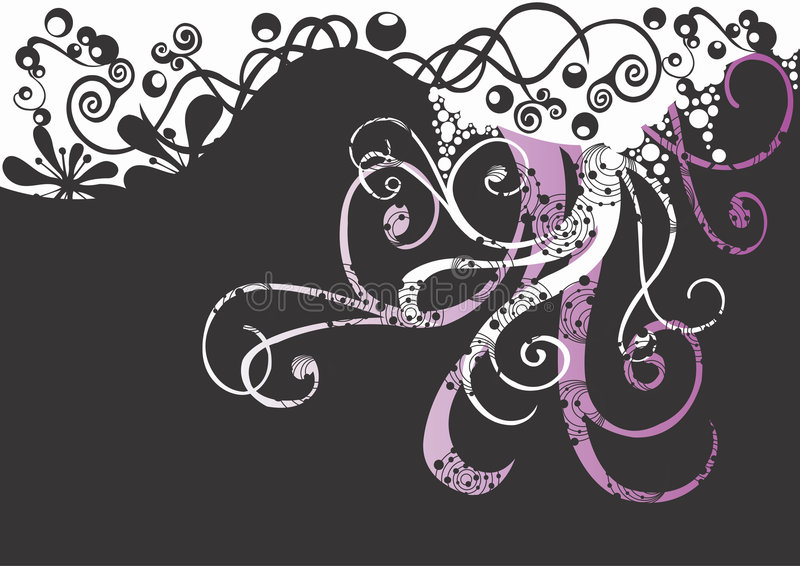 Decorative background vector illustration
