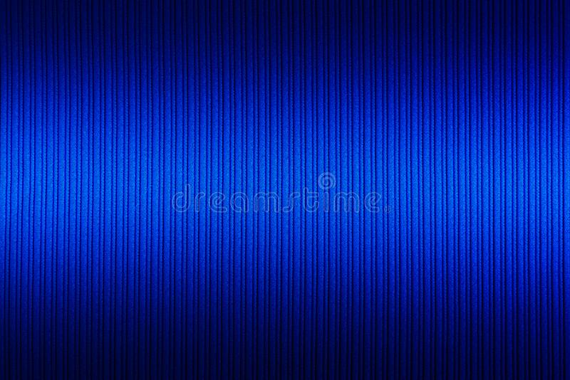 Decorative background blue color, striped texture upper and lower gradient. Wallpaper. Art. Design. Decorative background blue color, striped texture upper and stock image