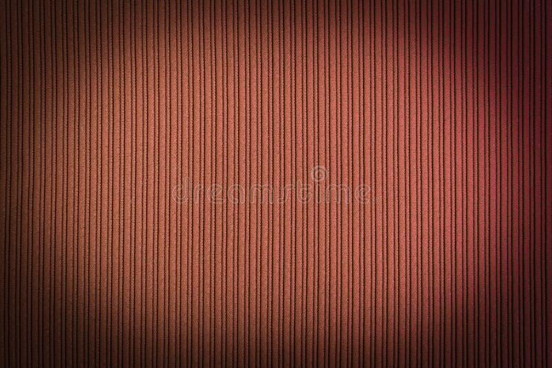 Decorative background brown orange color, striped texture vignetting gradient. Wallpaper. Art. Design. Decorative background brown orange color, striped texture stock image