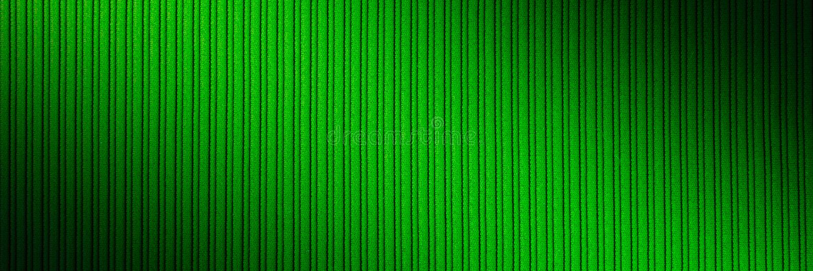 Decorative background green color, striped texture, diagonal gradient. Wallpaper. Art. Design royalty free stock image