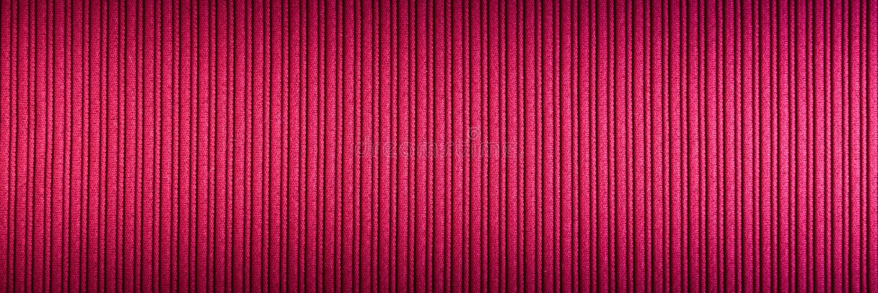Decorative background magenta, fuchsia, purple color, striped texture upper and lower gradient. Wallpaper. Art. Design stock photography