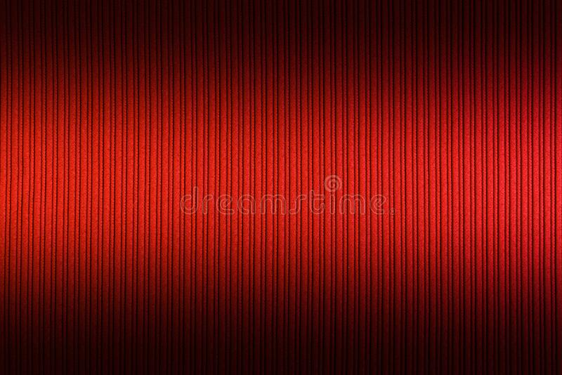 Decorative background red orange color, striped texture upper and lower gradient. Wallpaper. Art. Design stock photo