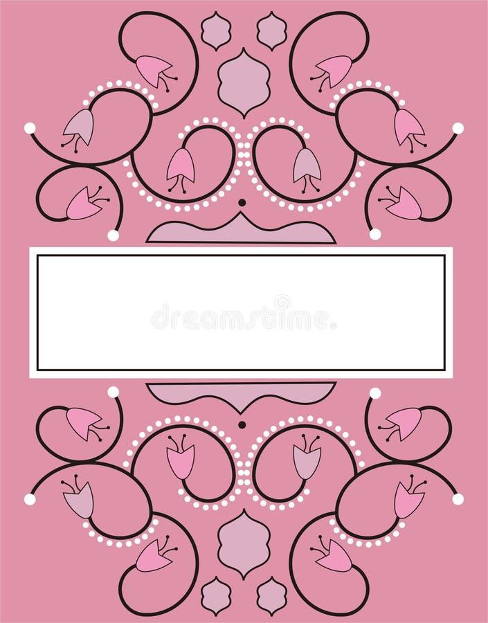 Decorative banner royalty free stock photos