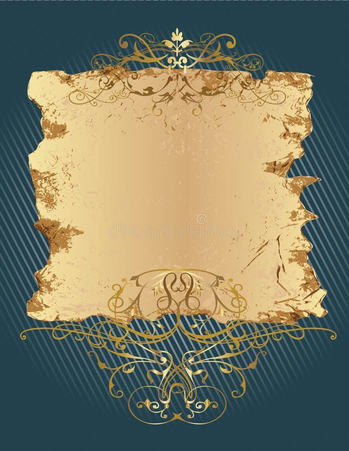 Decorative_banner ilustração stock