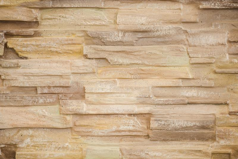 Decorative beige wall royalty free stock image