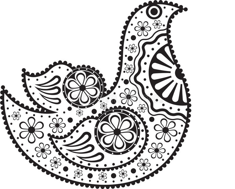 Download Decorative Bird stock vector. Image of symbol, creative - 21237316