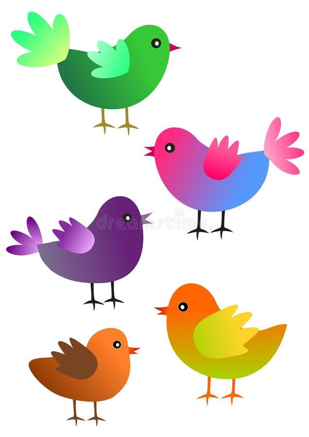 Download Decorative Birds Stock Images - Image: 14015414