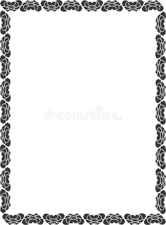 Download Decorative Border stock illustration. Image of picture, stationary - 81225