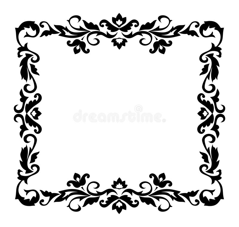 Free Decorative Border Ornament Stock Images - 1143914