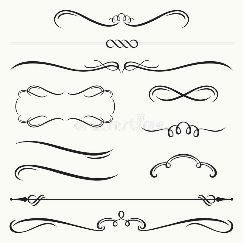 Decorative Borders And Frames Stock Vector - Illustration of frame ...