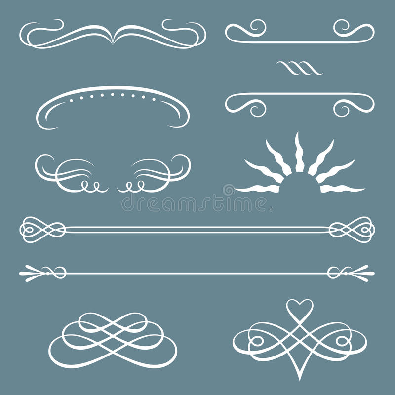 Download Decorative Borders And Ornaments Stock Vector - Image: 18186034