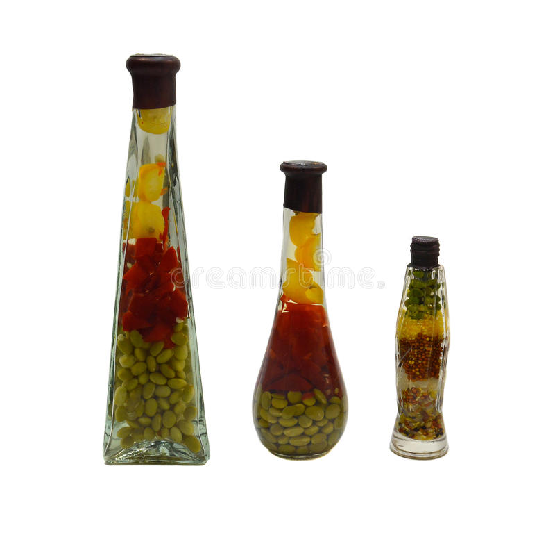 Decorative Bottle Stock Photo