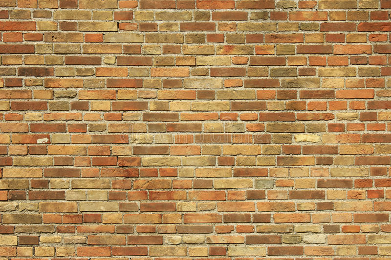 Decorative Brick Wall Royalty Free Stock Images