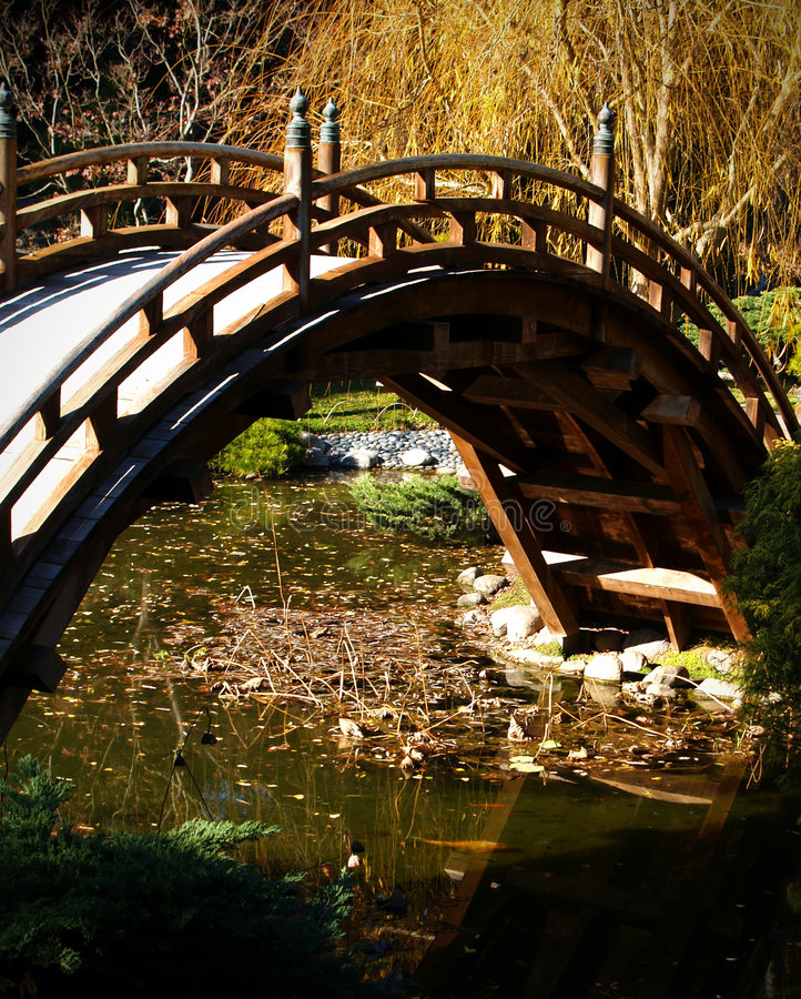 Decorative Bridge stock image