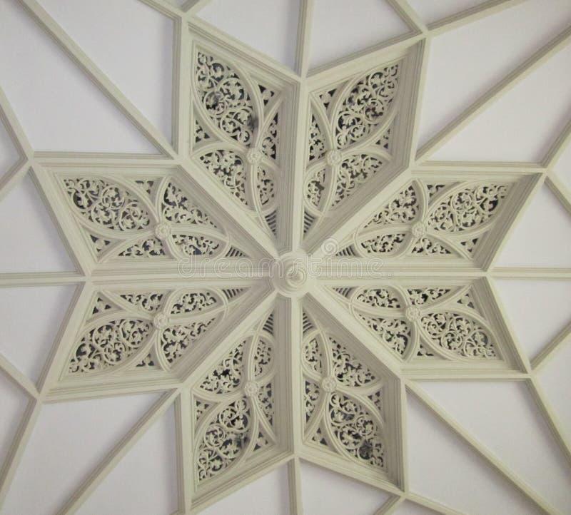 Decorative Ceiling Detail stock images
