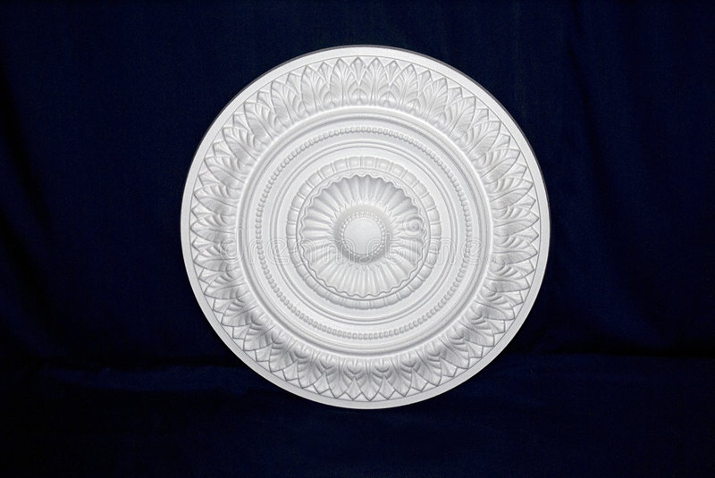 Decorative Ceiling Rose - 03 stock images