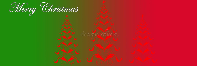Christmas Header Clipart.Decorative Christmas Header Stock Illustrations 2 492
