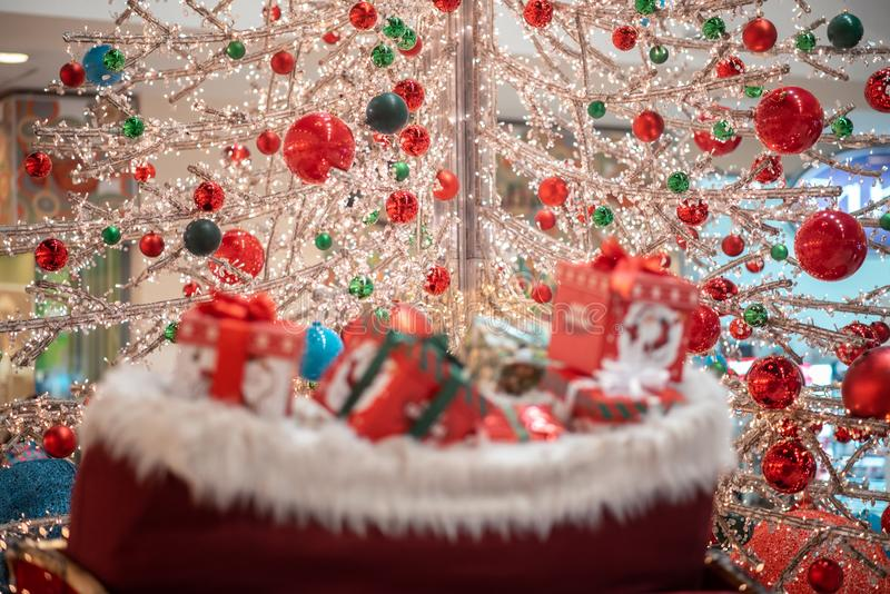 Decorative Christmas blur gif stock images