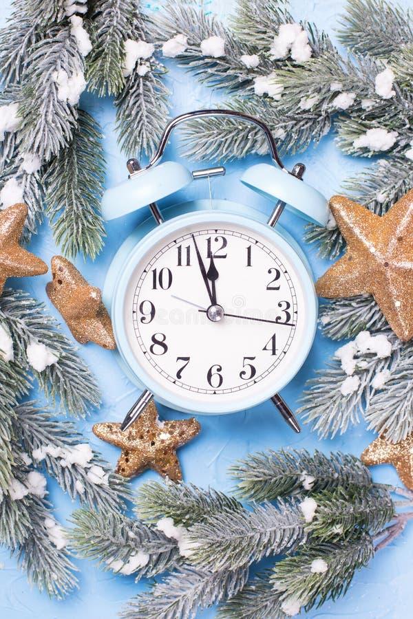 Decorative christmas composition royalty free stock photos