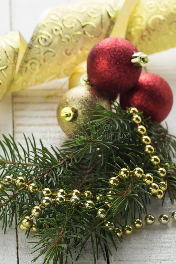 Download Decorative Christmas Composition Stock Photo - Image: 35276006