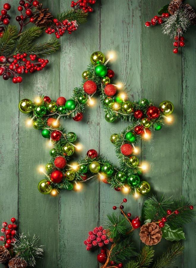 Decorative Christmas Star stock photography
