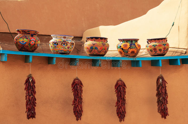 Download Decorative clay pots stock photo. Image of painted, ornamental - 39507334