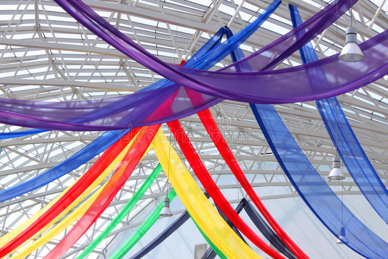 Decorative colored veils