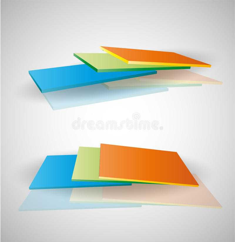 Download Decorative Colorful Panels. Stock Illustration - Illustration of panels, decorative: 32029712