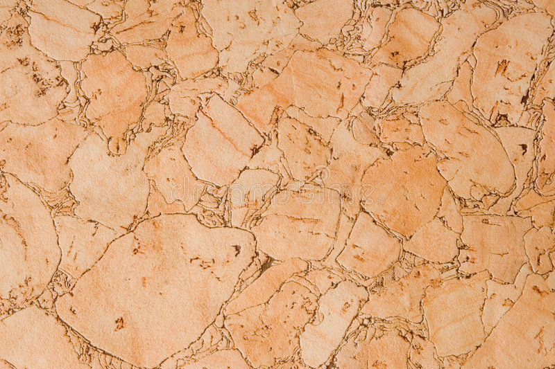Decorative cork wallpaper royalty free stock photo